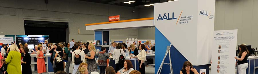 AALL 2017 Membership Services Pavilion