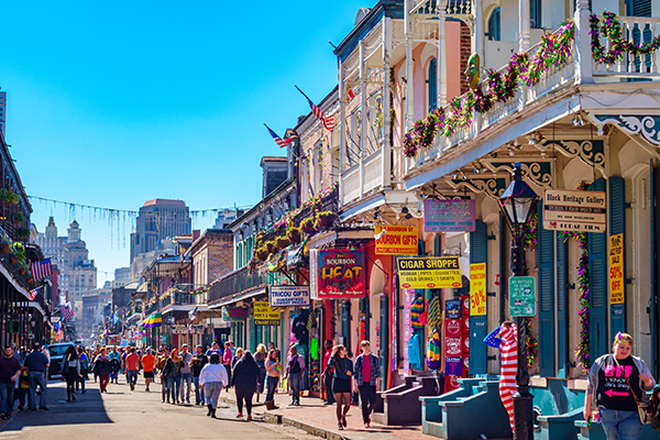 New Orleans street view