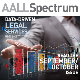 September/October 2019 AALL Spectrum