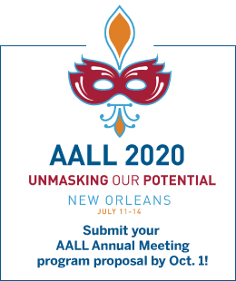 AALL 2020 Call for Proposals