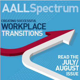 July/August 2019 AALL Spectrum ad