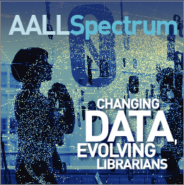 November/December 2018 AALL Spectrum ad
