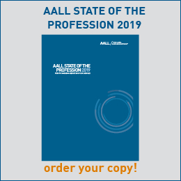 Order Your Copy of the 2019 AALL State of the Profession