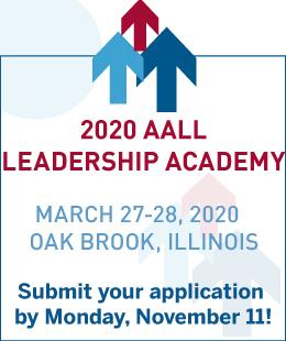 2020 AALL Leadership Academy