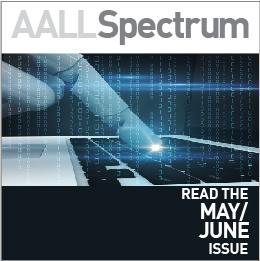AALL Spectrum May/June 2019