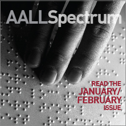 January/February 2019 AALL Spectrum ad