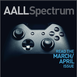 March/April 2019 AALL Spectrum ad