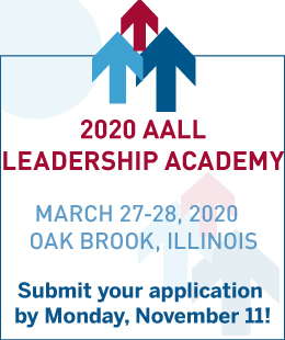 2020 AALL Leadership Academy