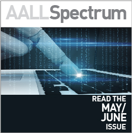 AALL Spectrum May/June 2019