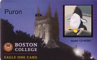 Boston College ID card