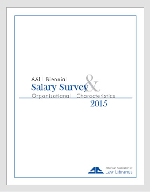 2015 AALL Salary Survey Cover