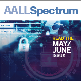 May/June 2018 AALL Spectrum ad