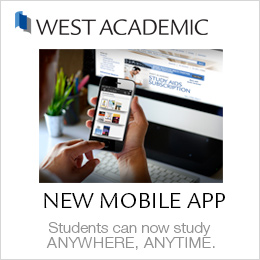 West Academic Ad for new mobile app