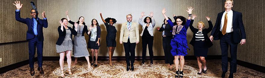 Executive Board jumping