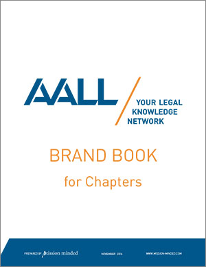 AALL Brand Book for Chapters