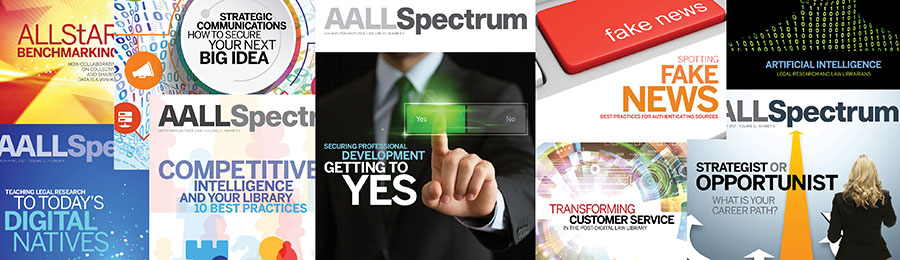 Variety of AALL Spectrum covers