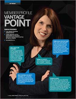 Sarah Rhode's member profile in AALL Spectrum