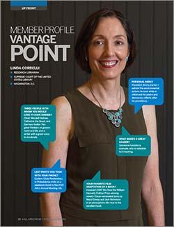 Linda Corbelli's member profile in AALL Spectrum