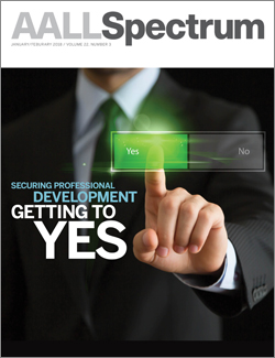 January/February 2018 AALL Spectrum cover