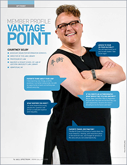Courtney Selby's member profile in AALL Spectrum