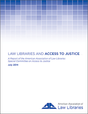 Access to Justice report cover