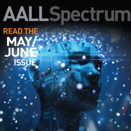 May/June 2020 AALL Spectrum