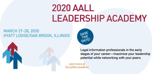 AALL Leadership Academy