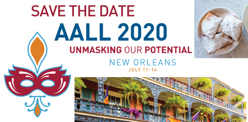 AALL 2020 Save the Date