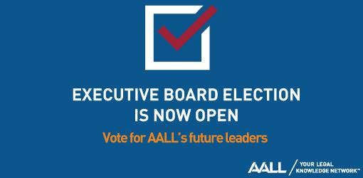 2019 AALL Executive Board Election