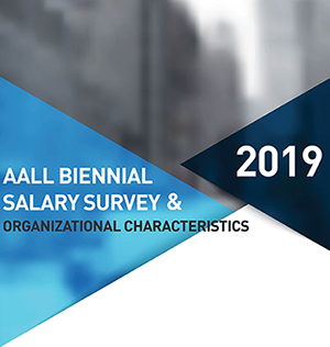 2019 AALL Salary Survey