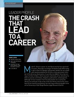 Mark E. Estes's leader profile in AALL Spectrum