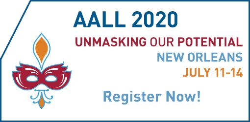 2020 AALL Annual Meeting Ad
