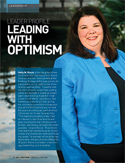 Holly M. Riccio's leader profile in AALL Spectrum